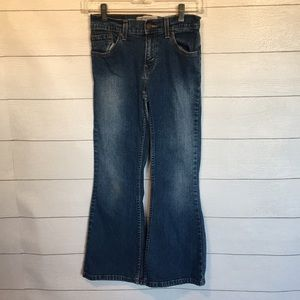 Levi's Low Rise Flare Jeans ( Girls)